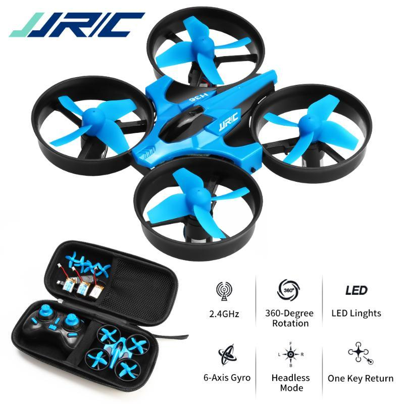 JJRC H36 Mini Drone 2.4G 4CH Quadcopter Drone Toy 360 градусов Flip 6axis One Клавиша Возврат RC Drones Toy Gift VS H56 H74