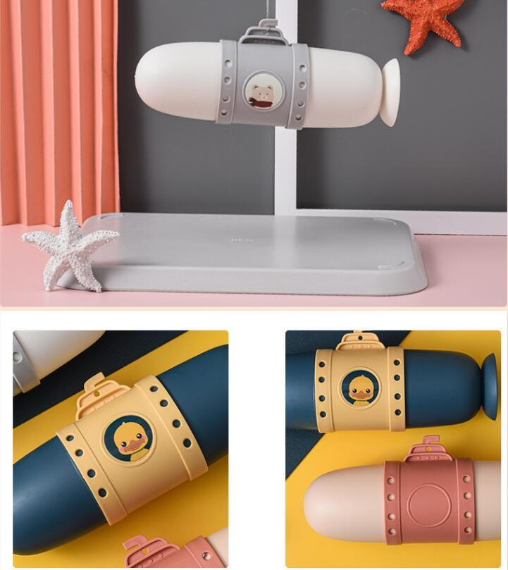 Подводные лодки зубные коробки путешествия зубная щетка хранения коробки организация портативная мытье чашки милая пара зубной коробки установить EWB2807