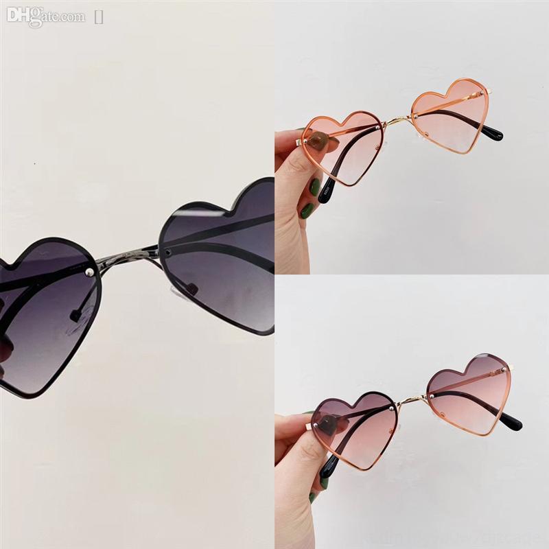 D6DAO Best 2021 Nuovo Vendita di Candy Color Amore Glasses Fashion Mens Retrofor Vetro Occhiali da sole Specchio TOAD Occhiali Occhiali Occhiali Moscot