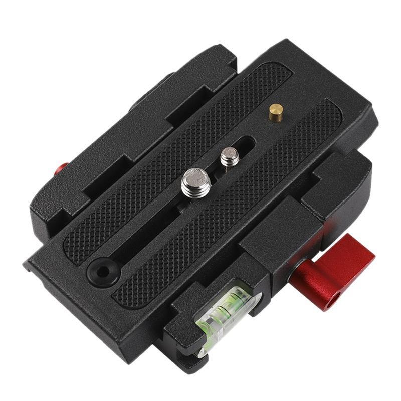 Stative Schnellauslösung Plattenbaugruppe P200-Klemmadapter für Manfrotto 577 501 500AH 701HDV Q5 CAMERA-STIMPORT-Zubehör