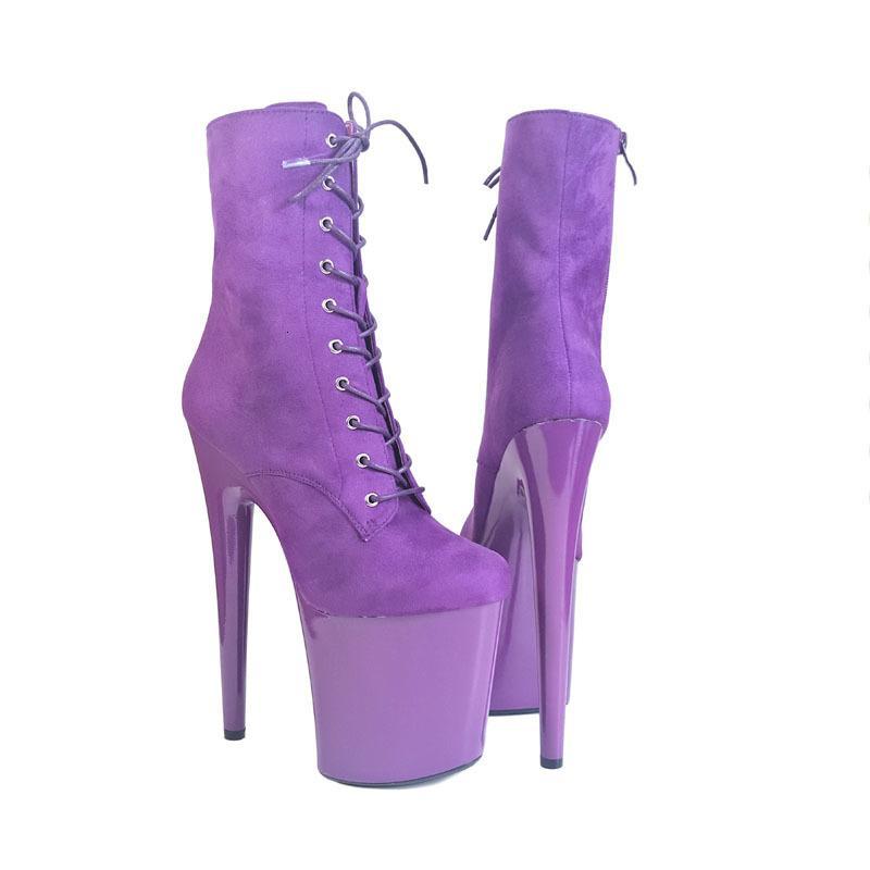 Schöne Pole Leecabe Kamel Farbe Ankle High Heel Plateau Stiefel Vegan Boots Kostüm Stiefel Pole Dancing Stiefel
