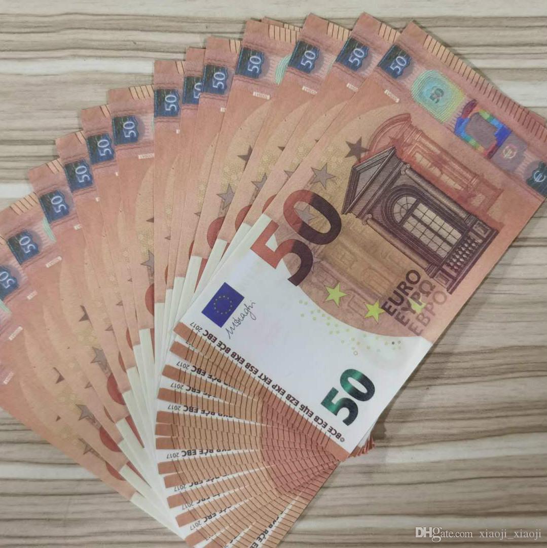 50 euros noël stade de vacances billet bébé copier argent billets de banque Faux accessoires enfants adultes atmosphère d'argent présente la meilleure chose de monnaie truc rubrique