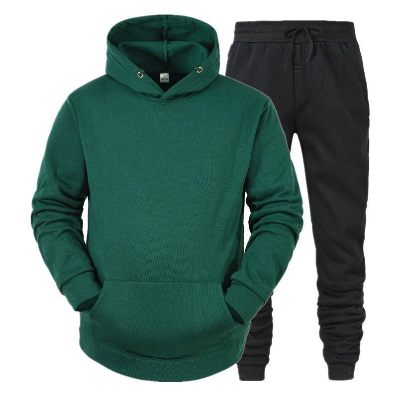 Men's Designer Vêtements 2020 Sportswear Ladies Sweat à capuche + Pantalon de sport 2 pièces Course d'occasion