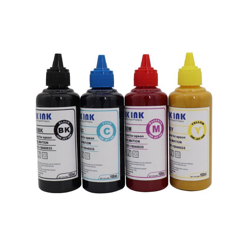 Universal Sublimation Ink For Heat Press Machine 400 ml Sublimation Ink for Inkjet Printers Heat Transfer Used T-shirt