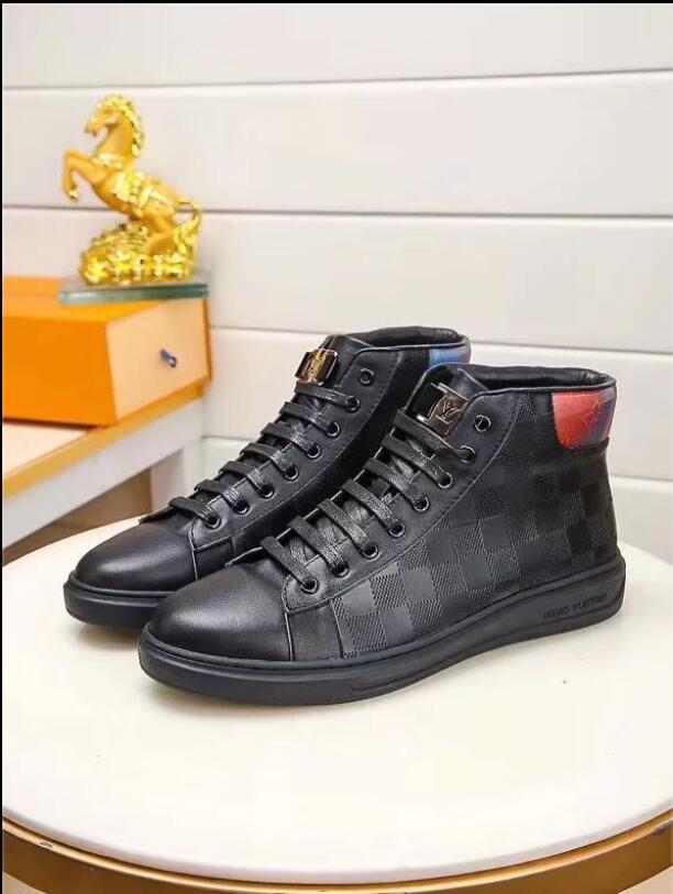 Modemarke italienische Designer-Schuhe, Faulenzer, Echtlederschuhe, Freizeitschuhe, Männer, Kleid Stiefel A1