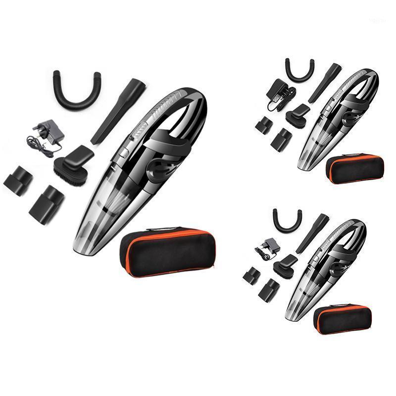 Aspiradores de aspiradores Top Venda portátil Handheld Washless Vacuum, poderoso líquido recarregável molhado / seco com saco de armazenamento1