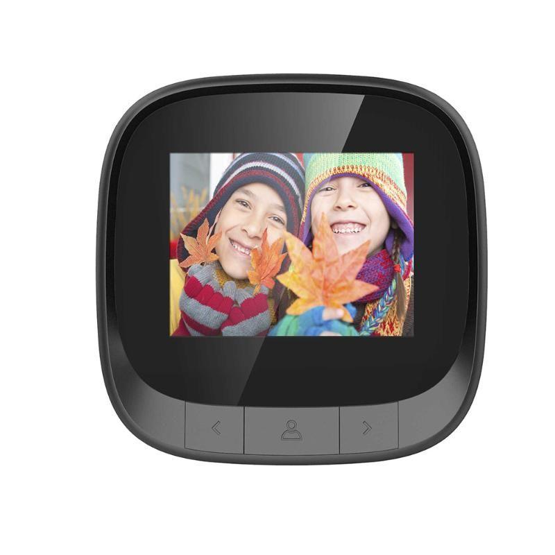 Eletrônico Porta Viewer 2.4 polegadas tela Doorbell Digital 90 graus Porta Eye campainha Eletrônico Peephole Camera Eye
