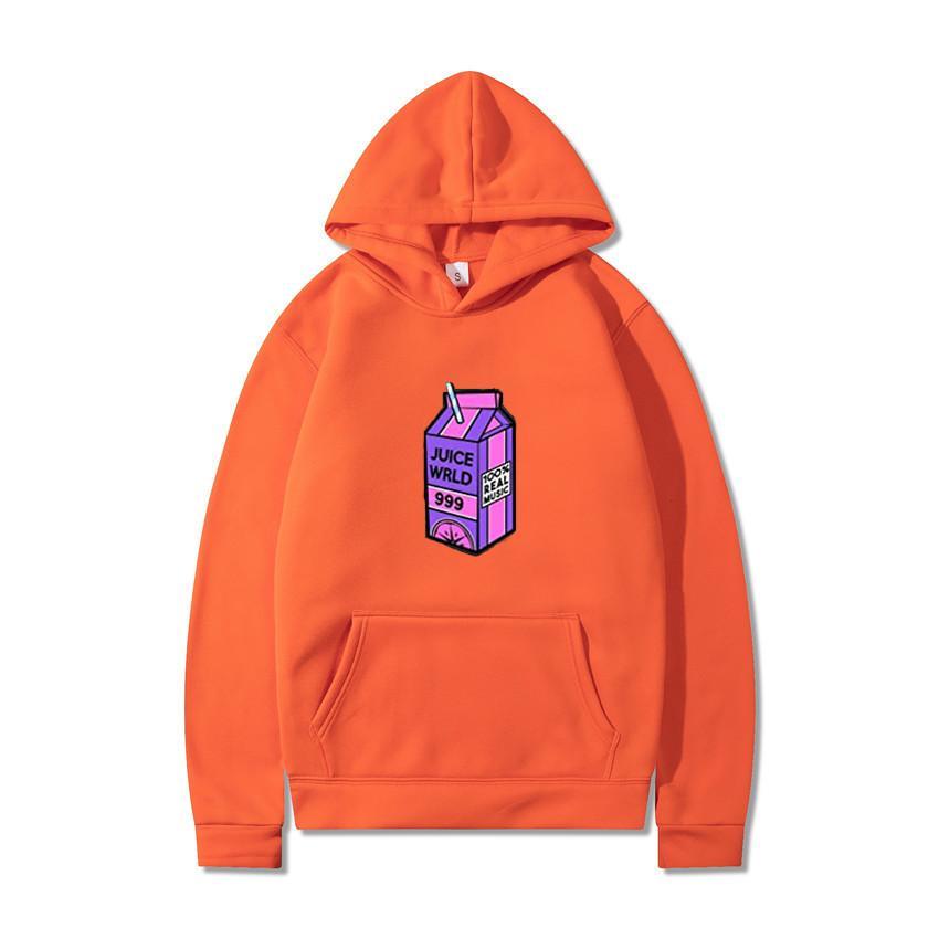 후드 패션 주스 WRLD 레모네이드 밀짚 인쇄 스웨터 봄 가을 유니섹스 스포츠 힙합 풀오버 코트 드롭 배송 x1021