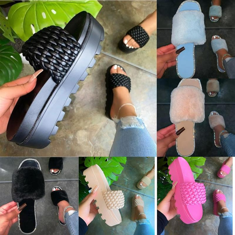 OV1KV Летние Flip Crystal Sandals Высококачественные тапочки Блеск Плоские Мягкие Блеша Женские Женщины Цвет Конфеты Флопы Крытые Дамы Плоский дизайнер