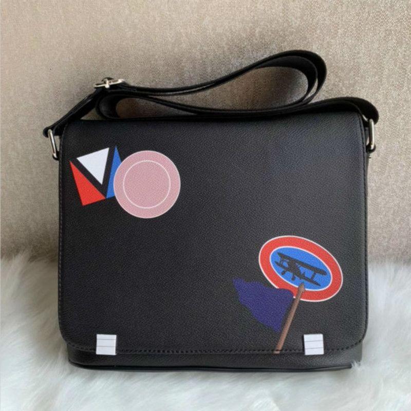 Bookbag PM Classic Quality Men Designers 41213 Llegada Bolsos del distrito Cross Body Bag School Messenger de gama alta debe JGUIQ