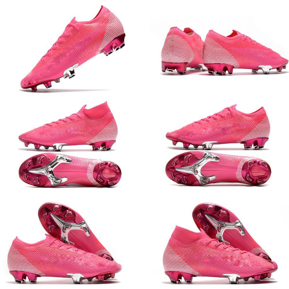 mens muchachos Tacos de fútbol cómodo Superfly botas de fútbol 7 Elite FG CR7 SE botas de fútbol Mercurial neymar las mujeres del tamaño 35-45