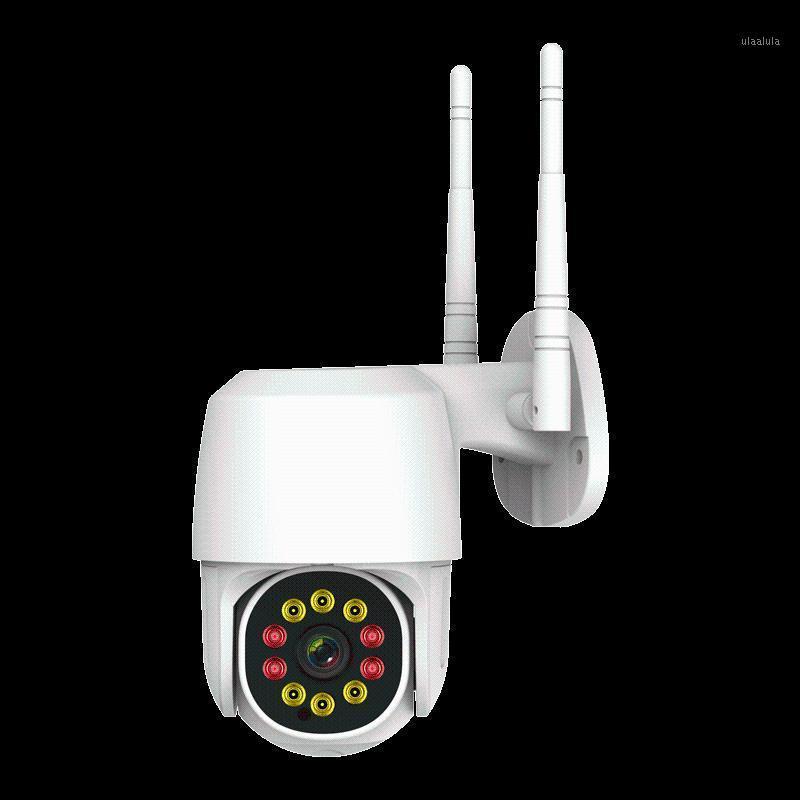 أنظمة مراقبة كشف الحركة كاميرا 1080P HD الرئيسية في الهواء الطلق للماء الأمن اللاسلكي CCTV اللون الكامل للرؤية الليلية 1