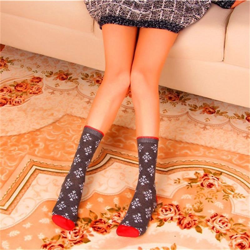2020 рождественские моды носки украшения пять остроконечных звезд среднего цилиндра чулки орнамент лось снеговика носки оригинальность 2 8bz f2