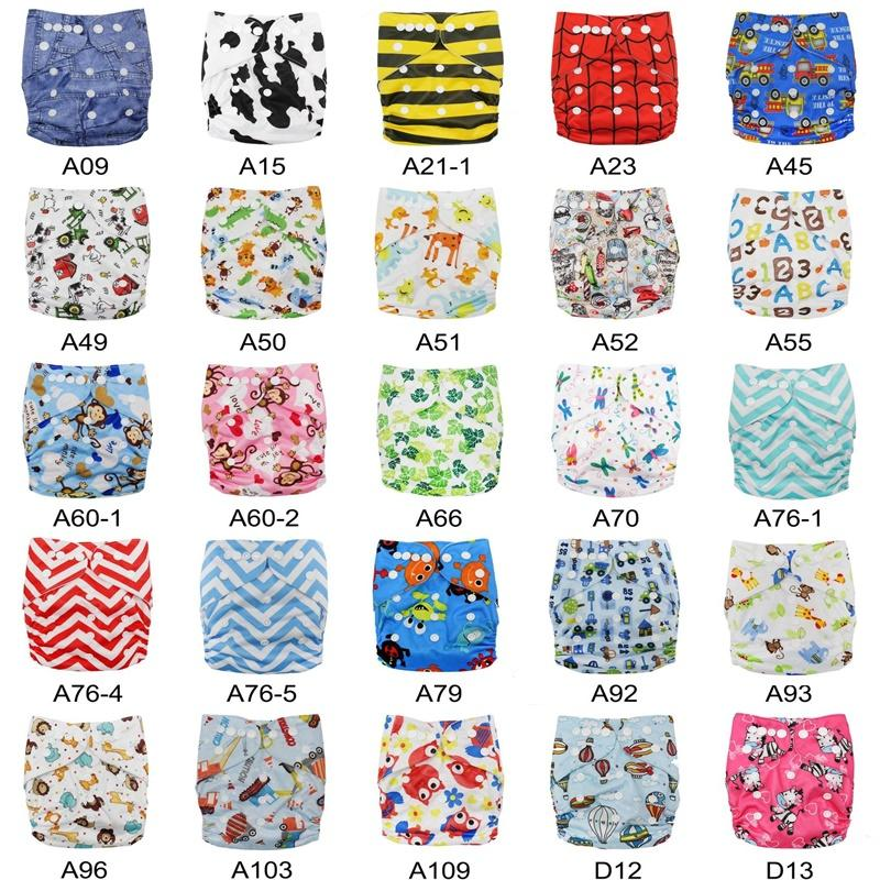 64 Styles New Baby One Size Reusable Cloth NAPPY Cover Wrap To Use With Flat or Fitted Nappy Diaper