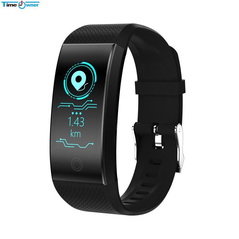 TimeOwner Armband Wasserdichte Herzfrequenz Monitor Smart Band Passmeter Kalorien Kilometer Multi Sport Fitness Tracker