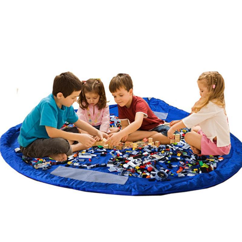 Дети дети играют коврик коврик ковер ванна игрушка для хранения сумки коробка организатор корзина большая емкость одеяло ящики смешные игрушки магазины