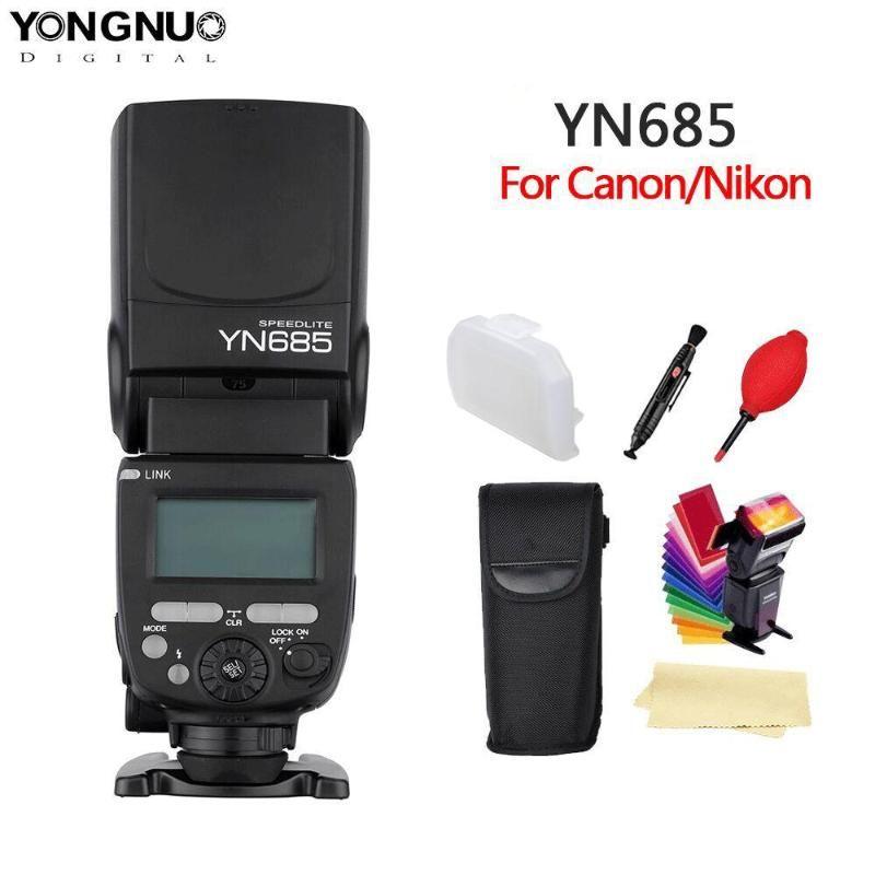 YONGNUO YN685 N/C Flash HSS 2.4G GN60 Wireless Master/Slave SpeedliteL Speedlight for Camera