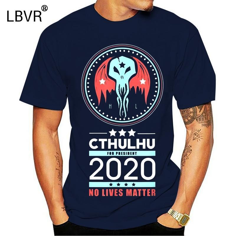 Voto Cthulhu para o presidente 2020 nenhuma vida Matéria Negra Political S 3xl Outfit hoodie de designers de camisetas camisola