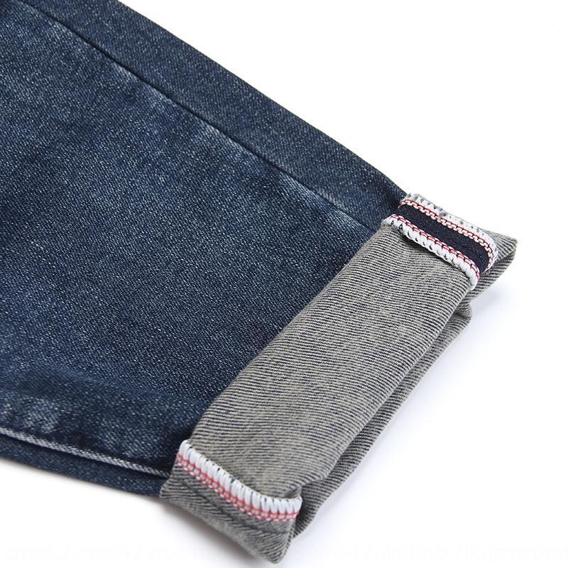 Новый стиль 9-точечная папа утолщенной джинсы мужские и джинсы мешковатые штаны упругие свободные ноги коническая мужские брюки осенью и зимой 2020 wGsIY ж