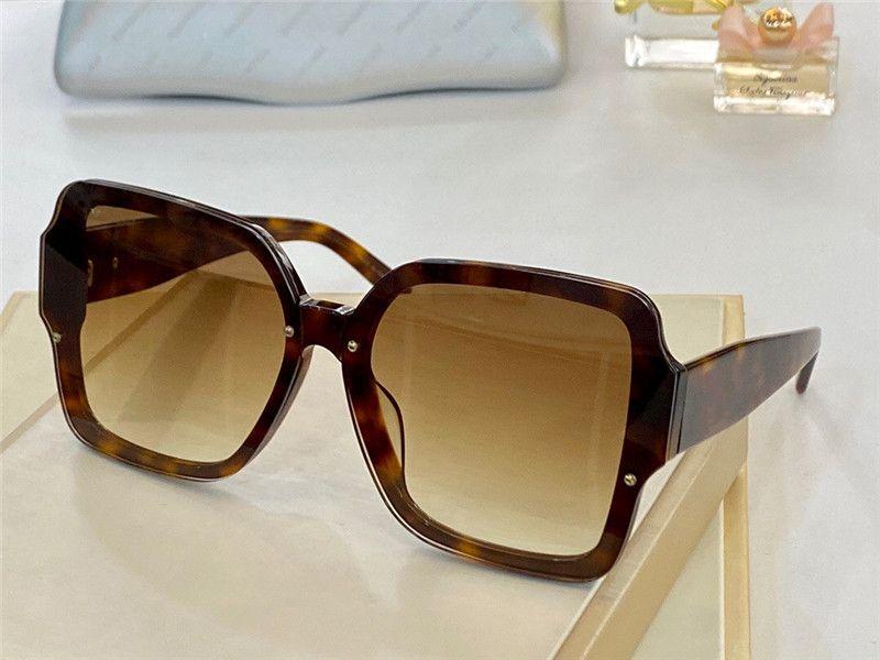 0136 Moda Yeni Erkekler ve Kadın Güneş Gözlüğü Retro Çerçevesiz Güneş Gözlükleri Vintage Punk Stil Gözlük En Kaliteli UV400 Koruma Kılıfı