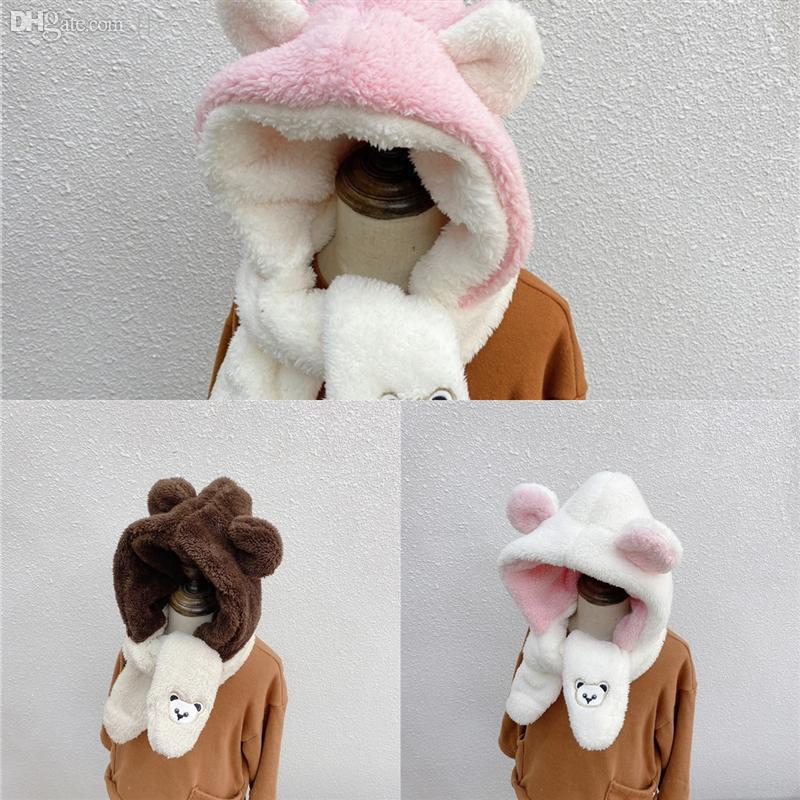 5kM5m Election Children's Hat Bandana Ear Protection Cap Biden Donald Sports Magic Bear Embroidery Scarf Scarves Face Keep Warm Masks