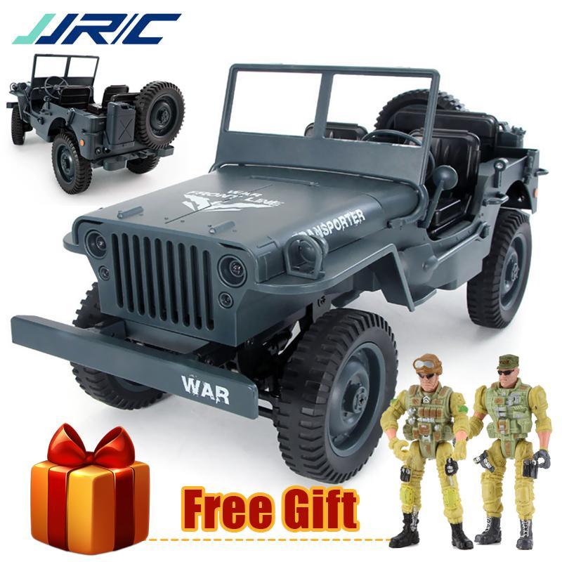 JJRC RC Truck 2. Convertible Military Off-Road a 4 ruote motrici Auto / H 1:10 Telecomando Giocattoli per il regalo per bambini LJ200919