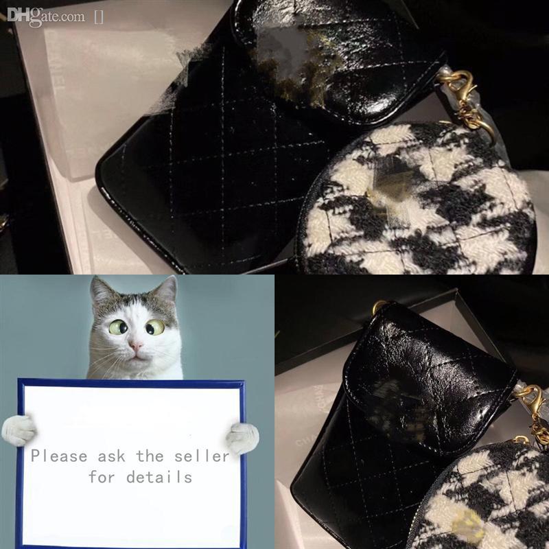 Obktk Geldbörsen Handtaschen Designer Luxurys braun heißer marke designer kleine änderung echte handtasche echtes leder brief damen damen nbxxe