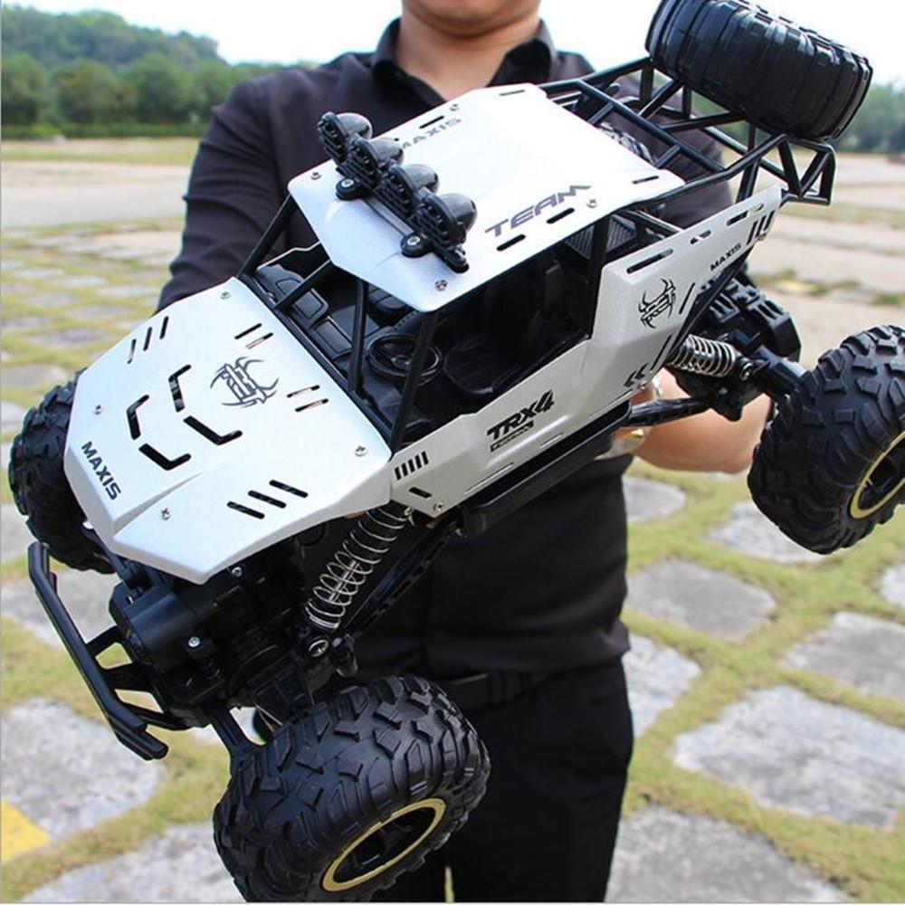 1:12 1:16 1:20 4WD RC سيارة تحديث النسخة 2.4G التحكم عن بعد نموذج عربة فائقة السرعة على الطرق الوعرة الشاحنات لعب هدية للبنين الأطفال Y200317