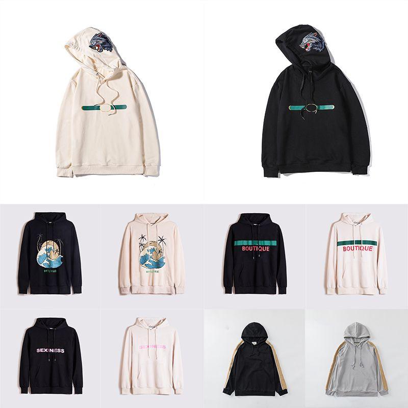 21ss Yeni Stil Sıcak Satış Bayan Tasarımcı Hoodie Moda Hayvan Yansıtıcı Sonbahar Ve Kış Erkek Uzun Kollu Rahat Kazak