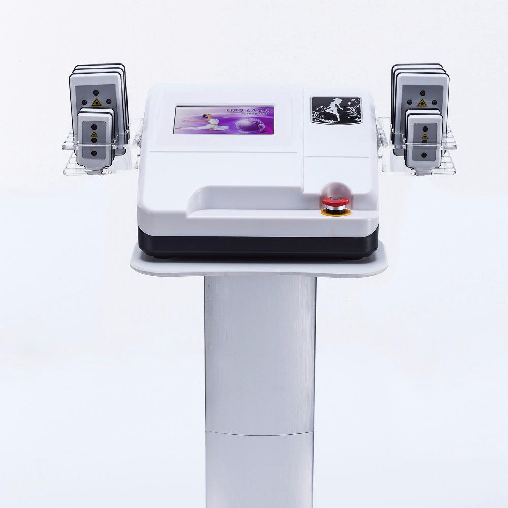 الجديدة الوزن typequality فقدان 10 منصات lipolaser نوعية هايت 650NM آلة لتخفيف الوزن ليبو ليزر ميتسوبيشي ليزر ديود