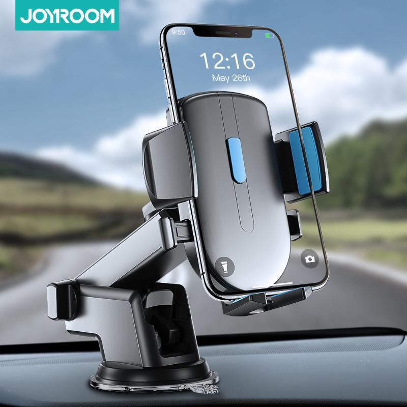 Car Phone Holder stand di rotazione titolare parabrezza Gravity Forte Sucker Dashboard Mount supporto per telefono in auto Joyroom