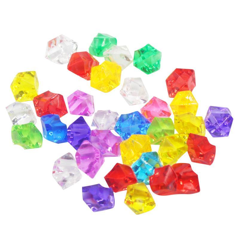 200 pièces de style Mix Strass acrylique Gems pierres de cristal