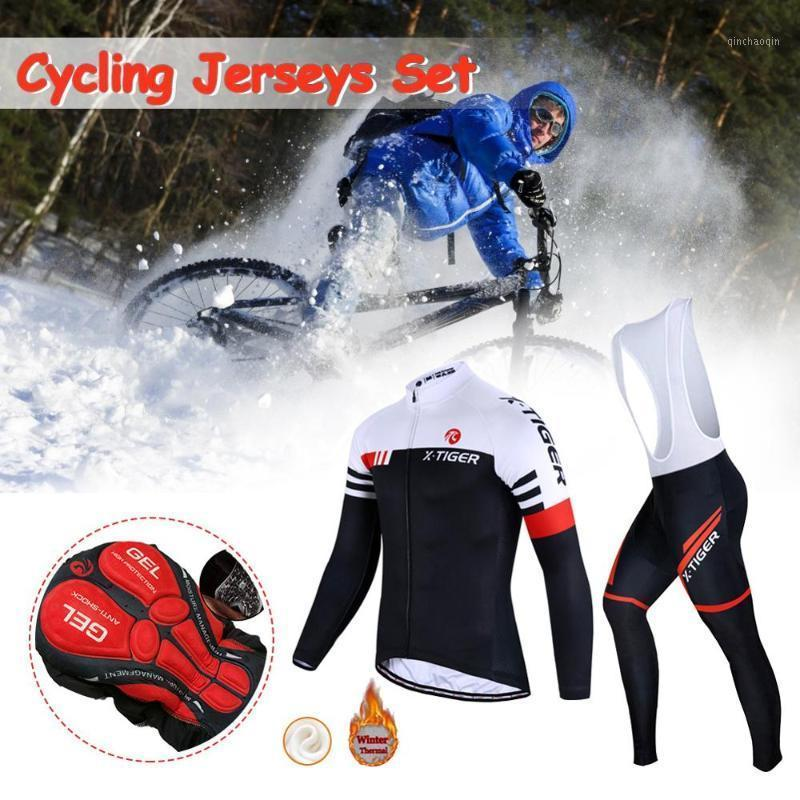 Invierno 2020 Ciclismo Jersey Set Cycling Thermal Mountain Bike Ropa Bicicleta Ropa MTB Bike Ropa Suit1