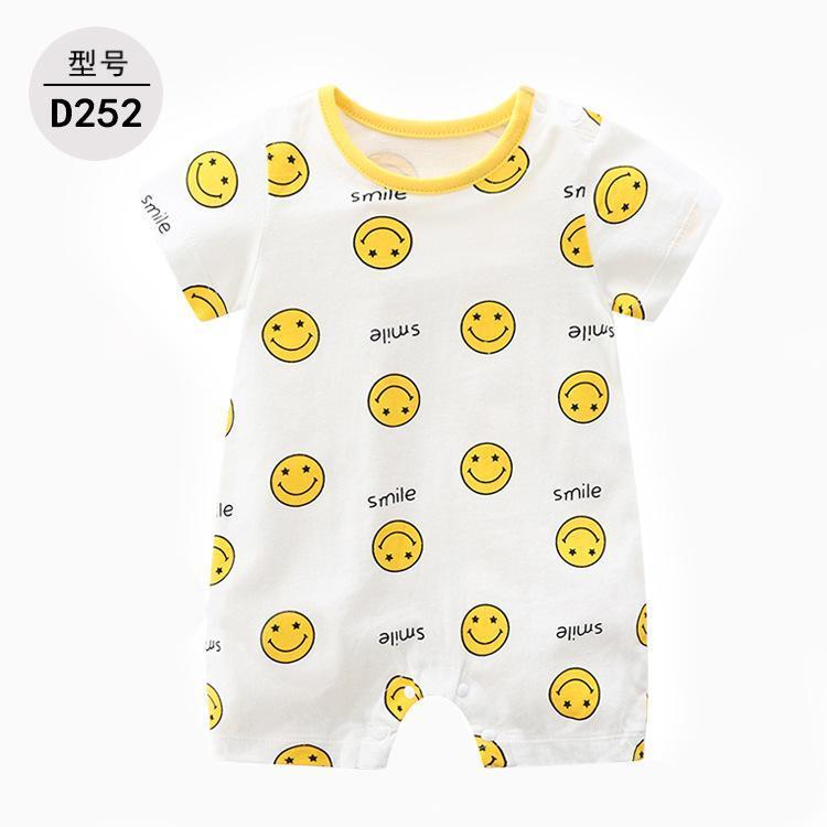 Newborn tuta Ins Popolare vestiti dei bambini di estate del bambino vestiti di stallo alimentazione a manica corta pagliaccetto pagliaccetto del bambino