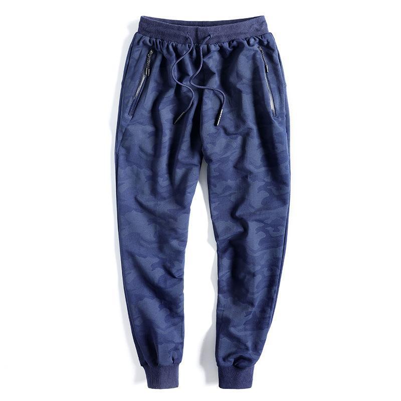 Nuovo Pantaloni Uomo 8XL 9XL Vita 10XL elastico Plus Size Uomini pantaloni della tuta casuale allentata Big Size Abbigliamento mimetico 201006 jogging Harem Uomo
