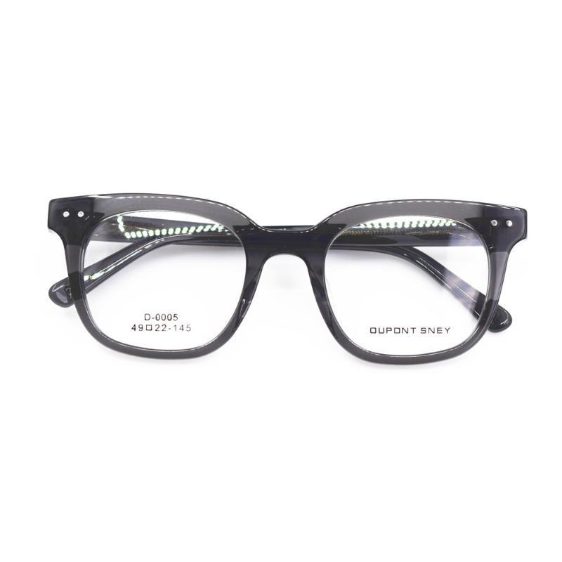 النظارات الطبية 49MM BETSION يدوية خمر خلات كاملة ريم الرجال النظارات البصرية المرأة قصر النظر نظارات إطارات