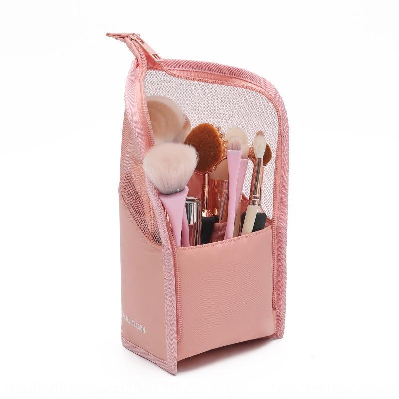 cXqBX brosse sac de stockage grande capacité de stylo à brosse cosmétique cosmétique simple, portable vertical Pencil godet baril style ins sac de crayon à sourcils
