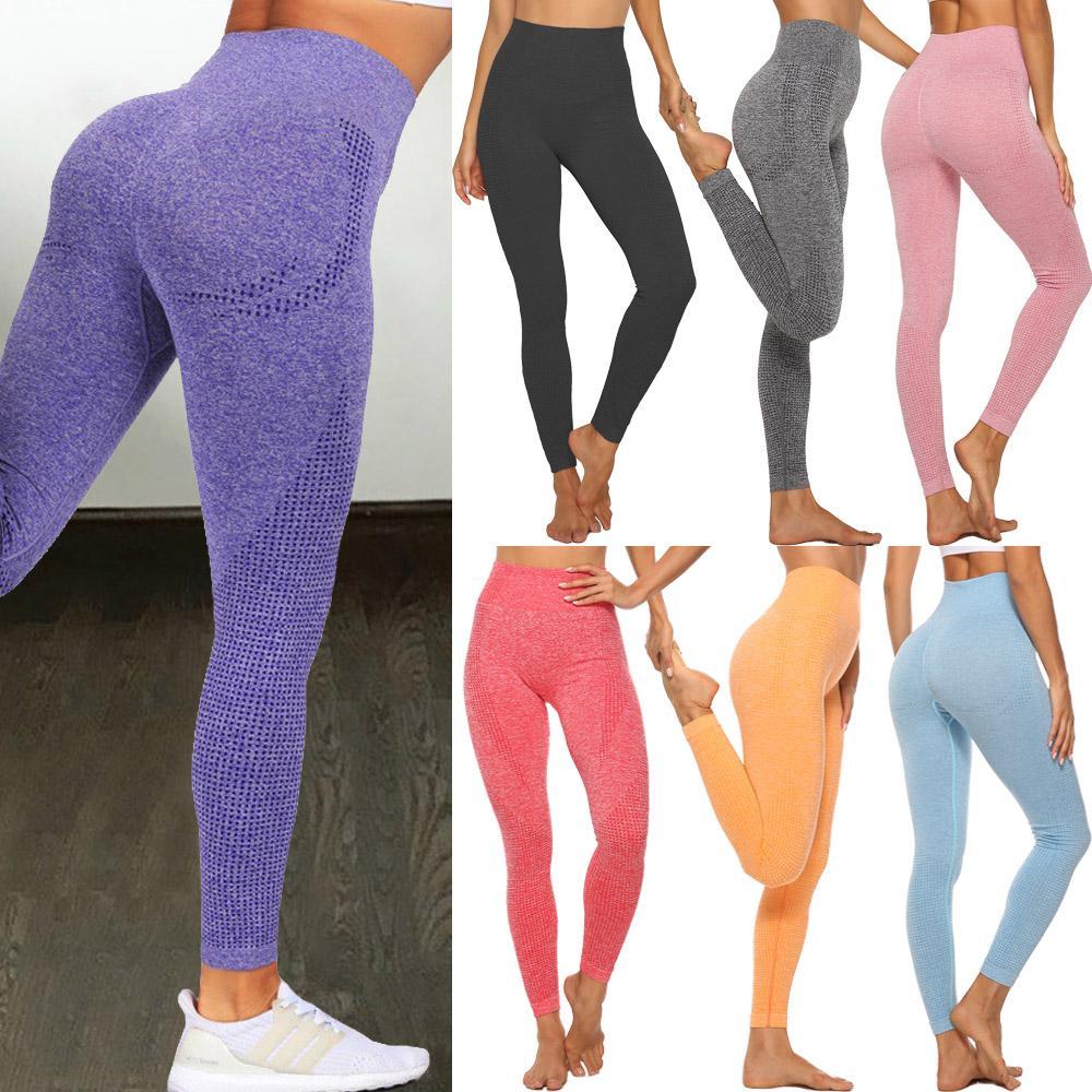 High Waist Seamless Leggings Push Up Leggins Sport Women Fitness Running Yoga Pants Energy Elastic Trousers Gym