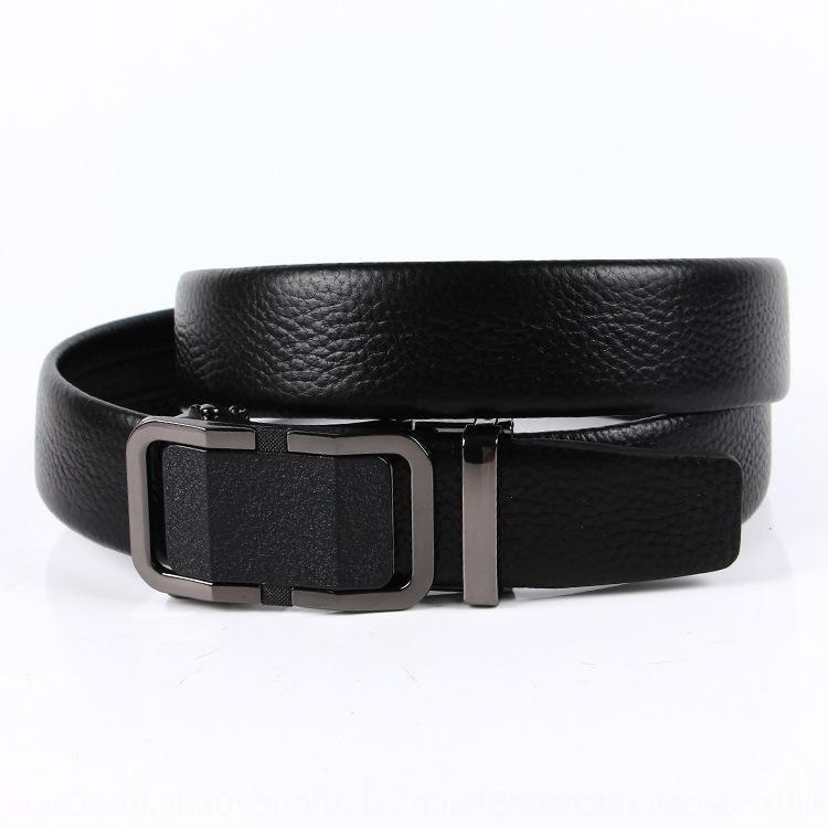 lcm0X Nouveau style versatilehead cuir Version cuir automatique tendance et la couche de ceinture d'hommes coréenne pour les jeunes et la ceinture de ceinture d'âge moyen nbvTp