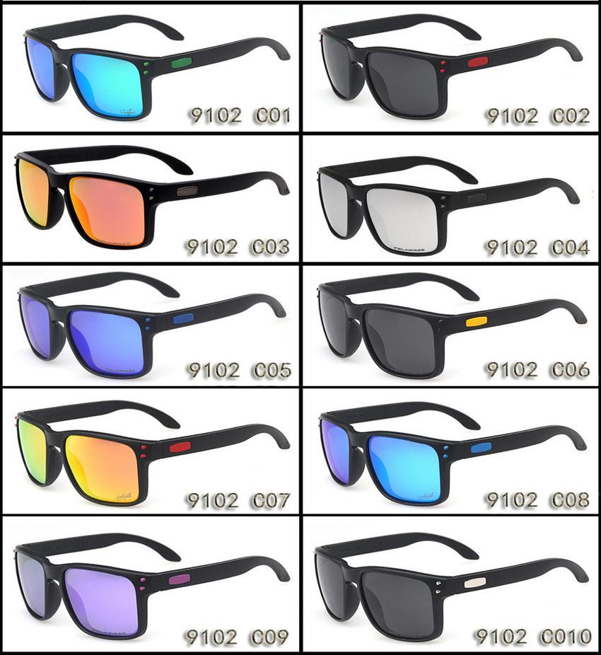 العلامة التجارية س نظارات الدراجات رجالي الاستقطاب عدسة الكلاسيكية OO9102 مصممين فاخرة نظارات الشمس للنساء uv400 الأزياء الملونة جودة عالية tr90 الإطار حالة