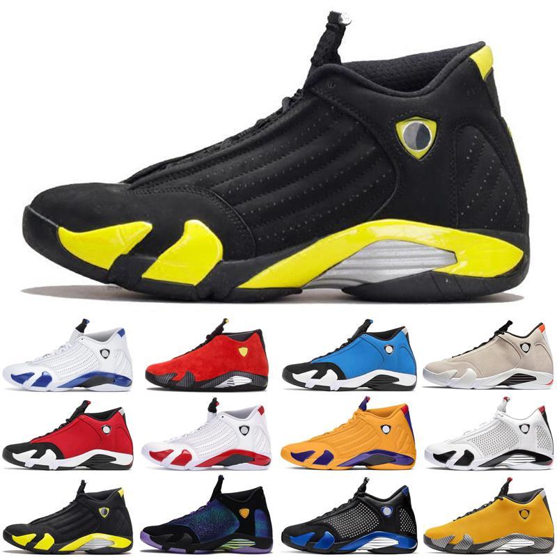 cetim descontoJordâniaretro 14 14s jumpman homens ar tênis de basquete Varsity homens reais treinadores desportivos sneakers tamanho 7-13