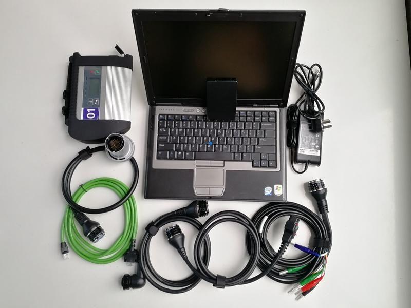 FormERCEDES Diagnostic Scanner MB Estrela C4 SSD Software V2020.09 em D630 laptop 4GB Super Speed SD C4 pronto para trabalhar