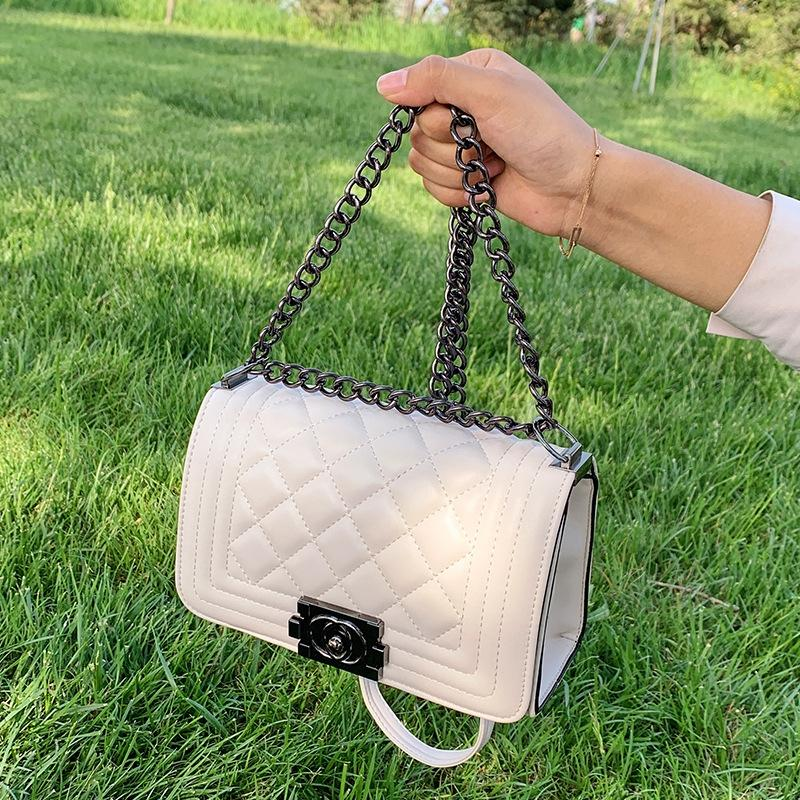 Versátil 2020 verão nova moda de moda saco quadrado vermelho bagSmall saco de rede pequena 8xy24 bagbag quadrado ins das mulheres