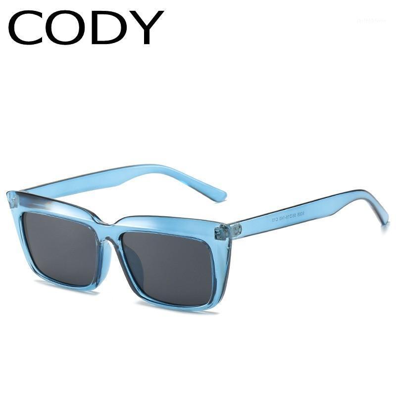 Q9086 moda gafas de sol mujeres diseño gradiente de lentes negras gafas hombres hombres cuadrados de gafas de sol UV4001