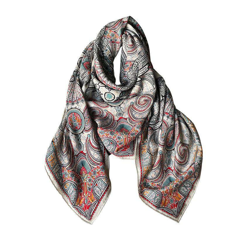 2021 Fashion Pattern Bufanda Bufanda de alta calidad Invierno Mantenga la bufanda caliente Accesorios de estilo de terciopelo Accesorios de estilo retro simple para mujeres niñas