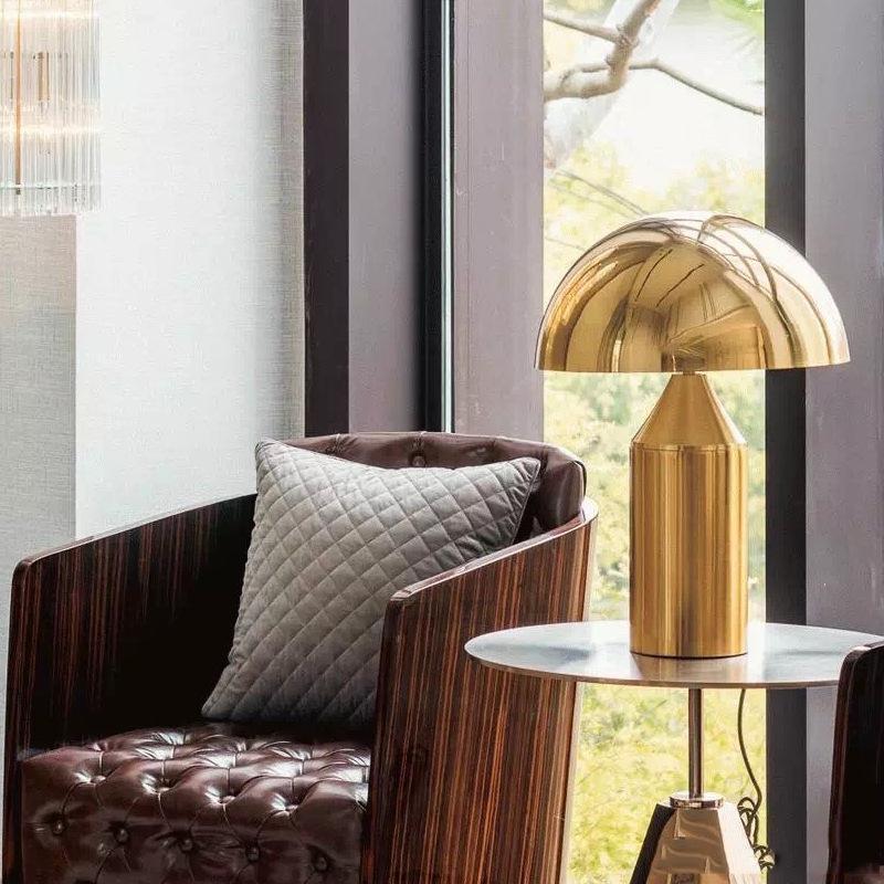 Moderne kreativer Designer Pilzkopf Tischlampe Wohnzimmer Schlafzimmer Nachtnachtlicht Leselampe personifizierte dekorative Lampen