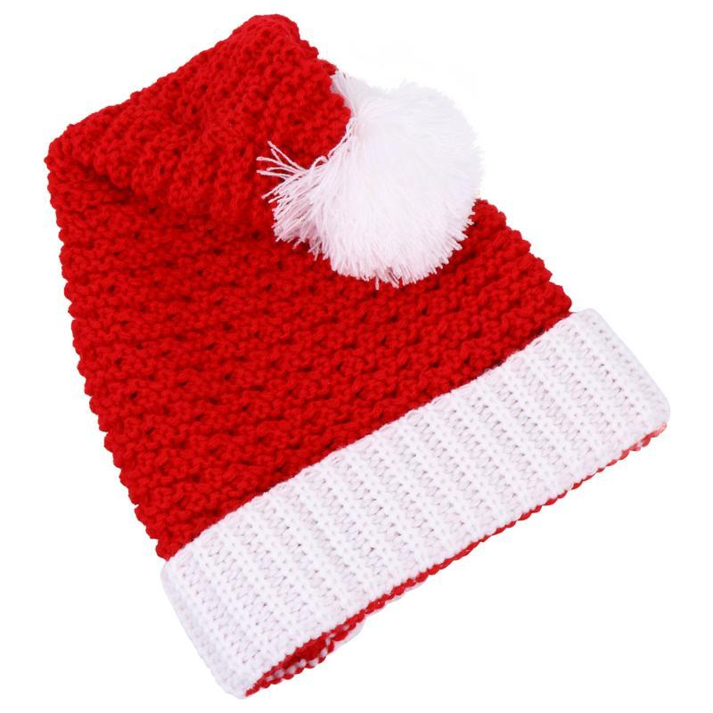 1pc Lovely Christmas Hats Xmas Caps Party Hats for Kids Decor Christmas Adults
