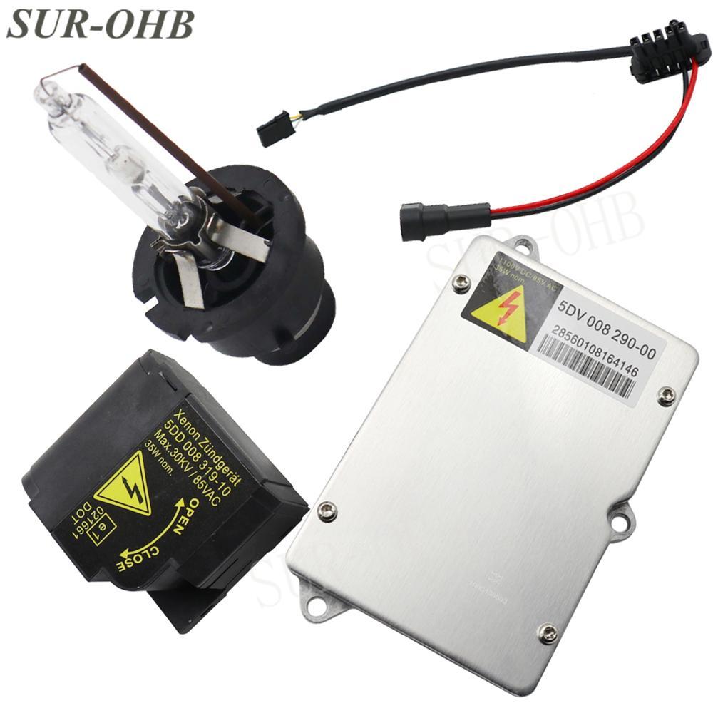 NEW HID Igniter Ignitor 5DD 008 319 10 5DV00829000 Xenon Headlight ballast IGNITER for AA6 GLS Igniter Bulb SOCKET A0028206926 63120150615