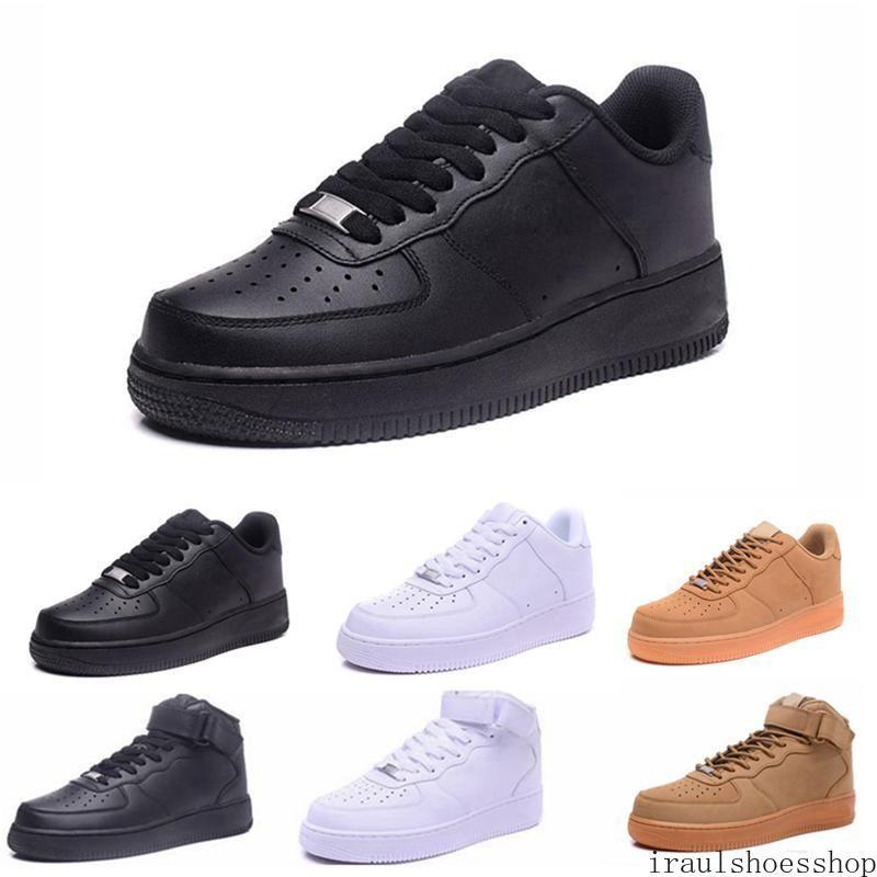 2020 hohe Qualität der klassischen Männer Frauen Unisex niedrige Freizeitschuhe der Frauen der Männer ein 1 Weiß Stern-Plattform Sandalen Schuhe 7-11 ira