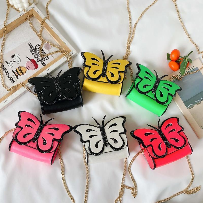 Geldbörse Nette Mädchen Mini Geldbörsen 2021 Kawaii Schmetterling Kinder Kleine Münz Brieftasche Tasche Kleines Mädchen Crossbody Taschen Baby Party Geschenk1